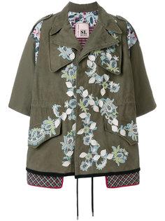 укороченная куртка с аппликацией Antonio Marras