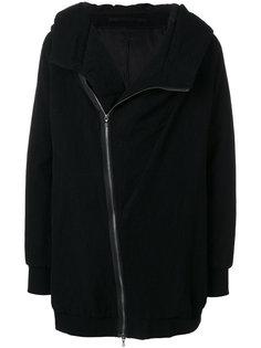 куртка с капюшоном и смещенной застежкой-молнией Julius