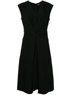 платье-миди с V-образным вырезом Theory