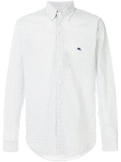 рубашка-поло с микро-принтом пейсли Etro