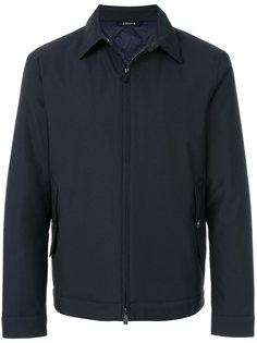 куртка-рубашка на молнии Z Zegna