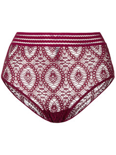 lace-embroidered briefs Else