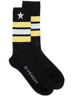 носки в полоску  Givenchy