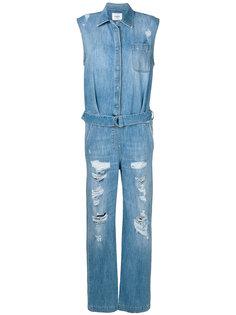 джинсовый комбинезон Dondup
