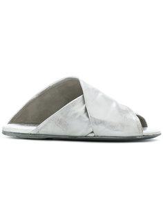 сандалии с перекрещивающимися ремешками Marsèll