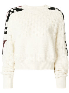 свитер с рукавами оригами Laytonn  Isabel Marant