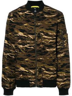 куртка-бомбер с камуфляжным узором Puma