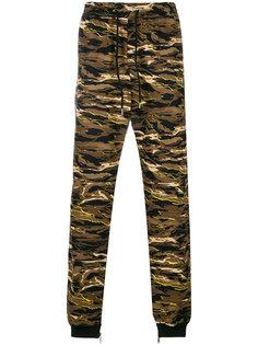 спортивные брюки с камуфляжным узором Puma