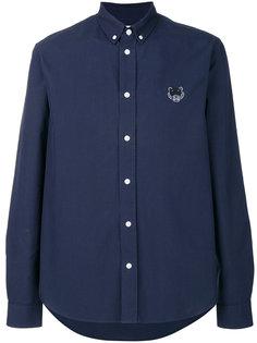 рубашка на пуговицах с изображением тигра Kenzo