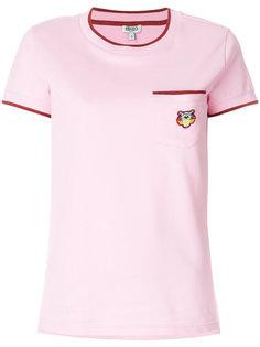 футболка с накладным карманом Kenzo