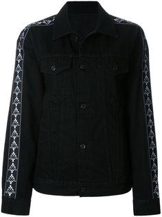 джинсовая куртка свободного кроя Kappa Marcelo Burlon County Of Milan
