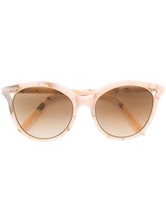 """солнцезащитные очки  с оправой """"кошачий глаз"""" Victoria Beckham"""
