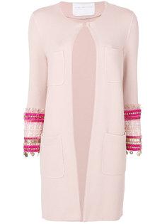пиджак с вышивкой на рукавах Giada Benincasa