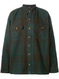 классическая фланелевая рубашка Mona Lisa Yeezy