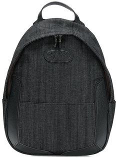 джинсовый рюкзак с кожаной отделкой Maison Margiela