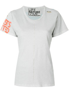 футболка с принтом Freecity