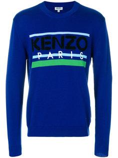 свитер с вышивкой Kenzo Kenzo
