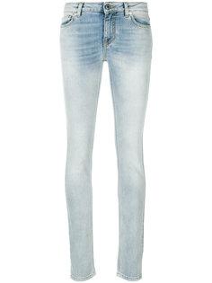 джинсы скинни с потертой отделкой Givenchy