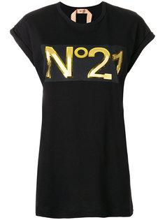 футболка с логотипом Nº21