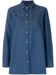 джинсовая рубашка Woolrich