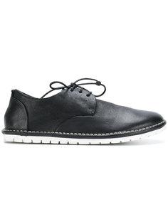 туфли со шнуровкой и контрастной подошвой Marsèll