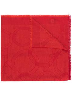 шарф в стиле кэжуал с необработанными краями Salvatore Ferragamo