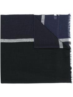 классический шарф с необработанными краями Salvatore Ferragamo
