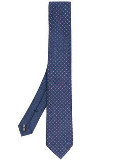галстук с жаккардовым узором  Salvatore Ferragamo