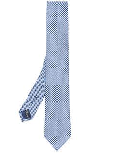 галстук с принтом Salvatore Ferragamo