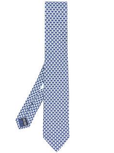 галстук с принтом Football Bunny Salvatore Ferragamo