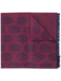 жаккардовый шарф Salvatore Ferragamo