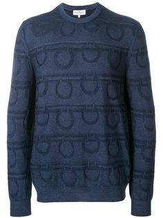 свитер с круглым вырезом Gancio Salvatore Ferragamo