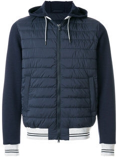 куртка-бомбер с капюшоном Herno