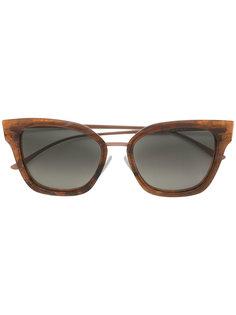 """солнцезащитные очки с оправой """"кошачий глаз"""" Boss Hugo Boss"""
