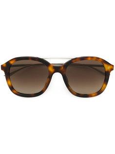 солнцезащитные очки с массивной оправой Boss Hugo Boss