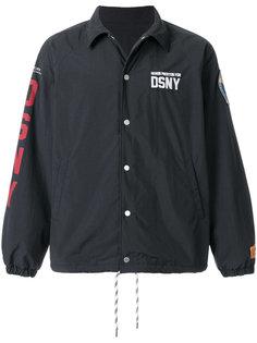 куртка со шнурком и заплатками Heron Preston