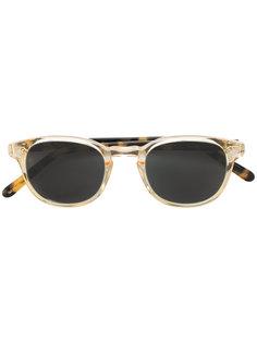 square tinted sunglasses Lesca