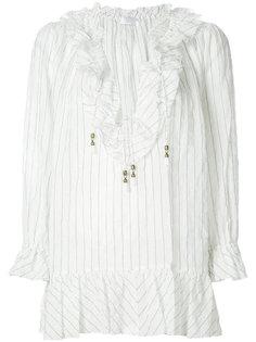 блузка с тонкую полоску  Zimmermann