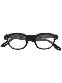 classic square glasses Lesca
