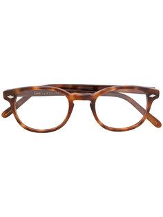 очки в черепаховой оправе  Lesca