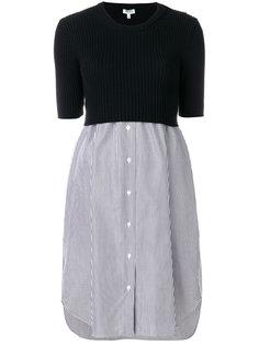 вязаное платье-рубашка Kenzo