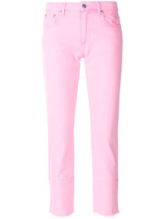 укороченные джинсы скинни MSGM