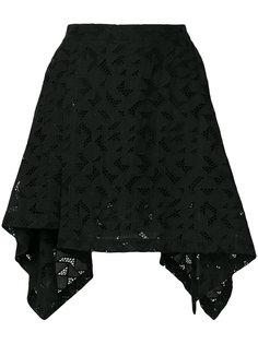 юбка с геометрическим принтом Neil Barrett
