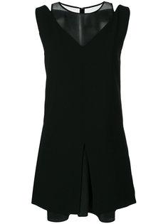 платье с сетчатой втставкой Neil Barrett