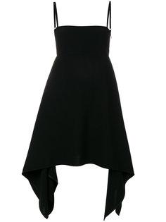 платье с асимметричным подолом Neil Barrett