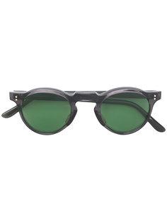 tinted round sunglasses Lesca