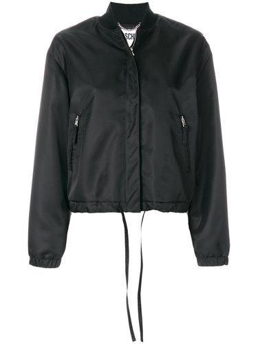 куртка-бомбер Playboy Moschino