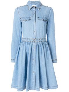джинсовое платье  Moschino