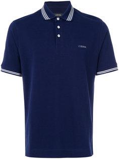 классическая рубашка-поло Z Zegna
