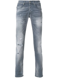 distressed stonewashed jeans Dondup